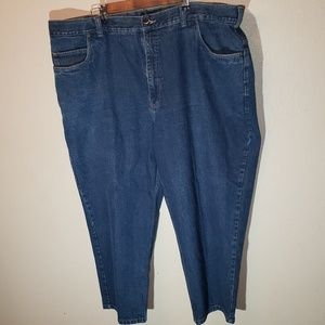 Harbor Bay Jeans Mens Big and Tall Size 50x28